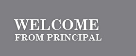Welcome from Principal